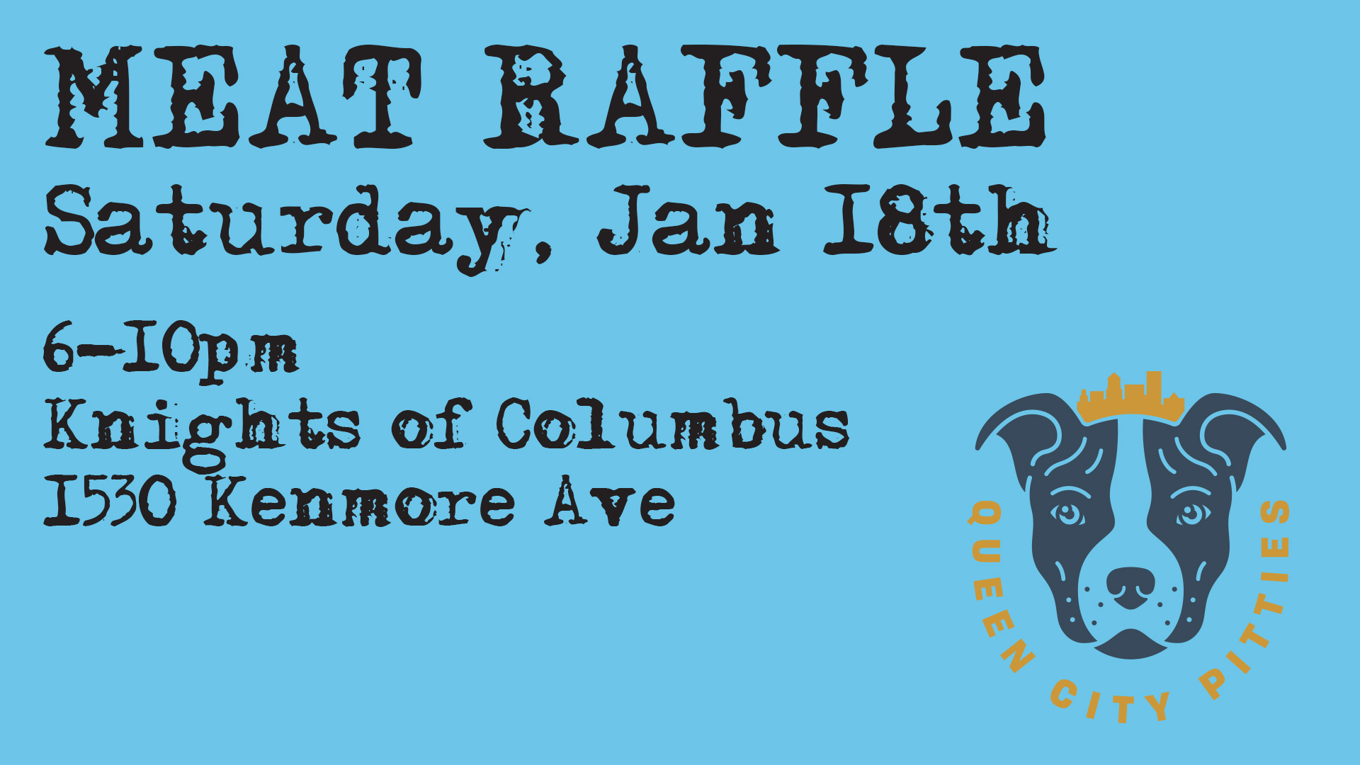 Jan 18 Meat Raffle